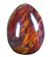 31mm Pietersite Egg Carving