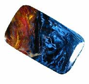 Gold & Blue Pietersite Cabochon