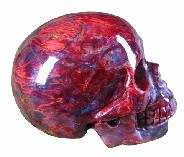2.0 Pietersite Carved Crystal Skull, Gemstone