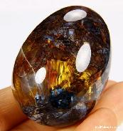 Pietersite Carved Crystal Egg