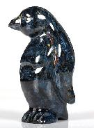 Pietersite Carved Penguin, Gemstone, Chatoyant