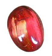 Red Pietersite Ring Cabochon