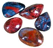 5 Pieces Pietersite Cabochons