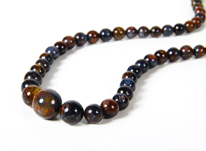 Pietersite Crystal Necklace